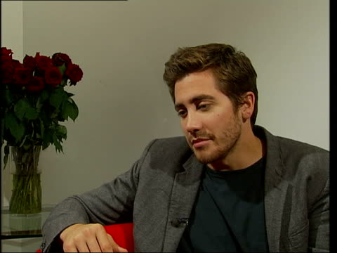 Brokeback Mountain Jake Gyllenhaal CMS Gyllenhaal interview SOT Talks of the success of the film