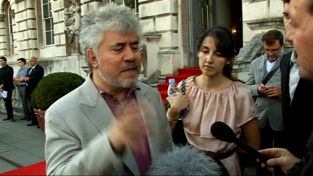 'Broken Embraces' Interviews with Pedro Almodovar and Penelope Cruz Pedro Almodovar interview SOT On tying to put humour and passion into his movies...
