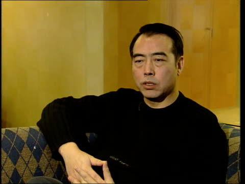 chinese cinema chen kaige int kaige interview sot prospects for next generation of film directors financing censorship really tough situation - censorship stock videos and b-roll footage
