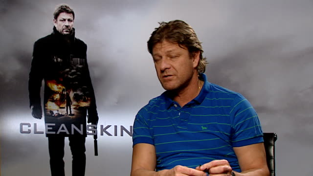 vidéos et rushes de cleanskin interviews sean bean interview sot talks about what attracted him to the film what he would do if not an actor being compared to george... - sean bean