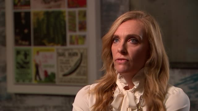 'Hereditary' Toni Collette interview ENGLAND London INT Reporter and Toni Collette Toni Collette interview SOT Reporter and Collette