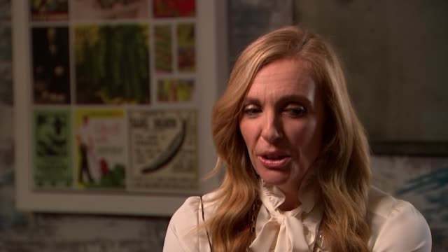 'Hereditary' Toni Collette interview ENGLAND London INT Reporter and Toni Collette Toni Collette interview SOT Reporter and Collette Reporter