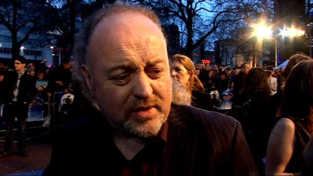 'nanny mcphee and the big bang' london premiere red carpet interviews bill bailey interview sot on the appeal of the film nanny mcphee and the big... - nanny stock videos & royalty-free footage