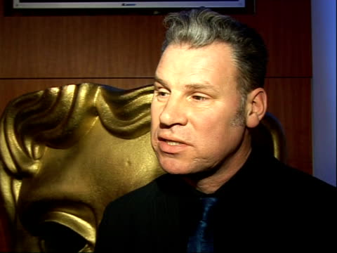 orange rising star awards: interviews; mark kermode interview sot - マーク カルモード点の映像素材/bロール