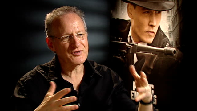 public enemies michael mann interview england london int michael mann interview sot talks of working with johnny depp and christian bale on the film... - michael mann film director stock videos & royalty-free footage