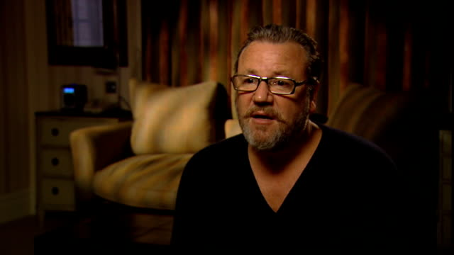 ray winstone interview on new film 44 inch chest england london int ray winstone interview sot talks about his new film 44 inch chest and the... - ray winstone stock videos & royalty-free footage