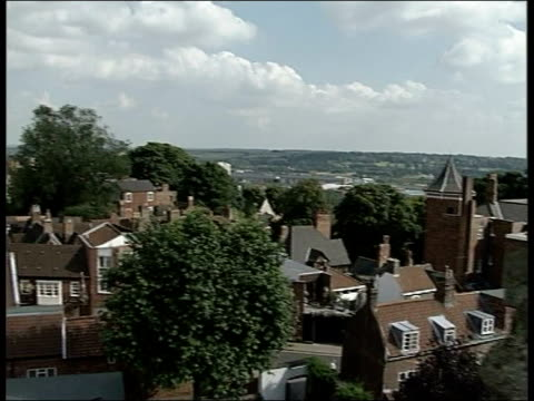 'the da vinci code': nuns protest; england lincolnshire lincoln ext city of lincoln where dan brown's bestseller 'da vinci code' is being filmed to... - the da vinci code stock videos & royalty-free footage