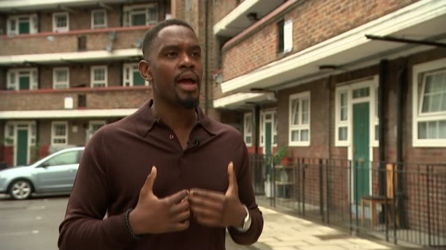 'Yardie' Aml Ameen stars in film that marks Idris Elba's directorial debut ENGLAND London EXT Aml Ameen interview SOT Reporter and Ameen