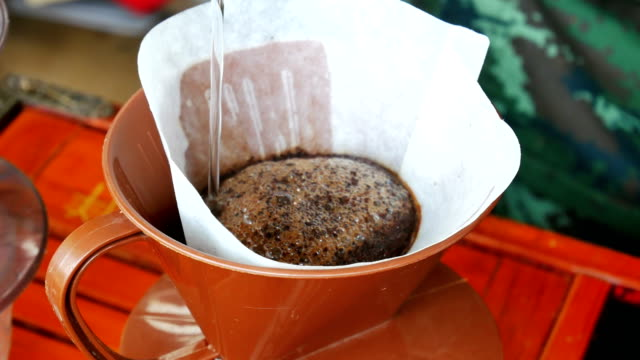 Filter drip coffee