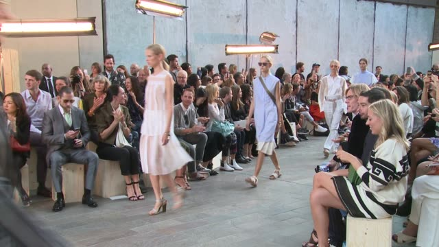 Finale at Paul Smith SS15 London Fashion Week on 14th September 2014 in London England