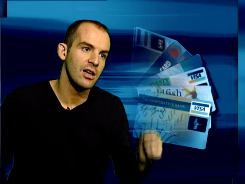 credit cards cost of borrowing cms martin lewis interview sot - borrowing stock videos & royalty-free footage