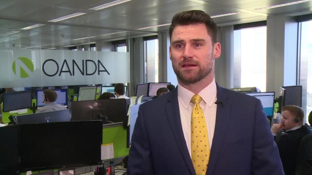financial analyst says that he believes a no deal brexit scenario is getting less likely and that the markets have reacted with an air of calm to the... - financial analyst stock videos & royalty-free footage