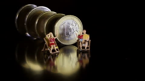 financial crisis and euro - female likeness stock videos & royalty-free footage