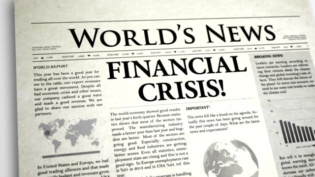 Financial Crisis and Stock Market