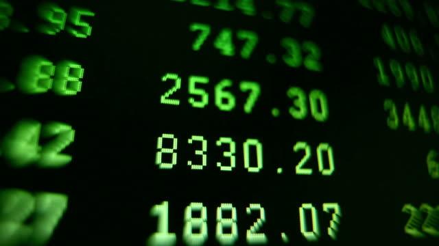ECU Financial data on computer screen