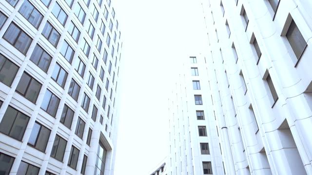 Quartier des finances de la ville moderne
