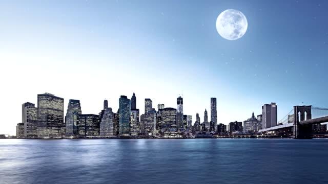 vidéos et rushes de quartier des finances de new york - port de new york