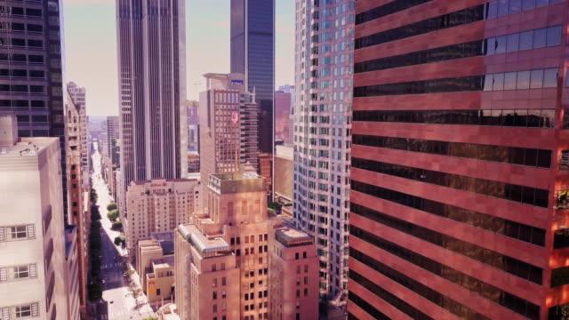 la financial district - 茶色点の映像素材/bロール