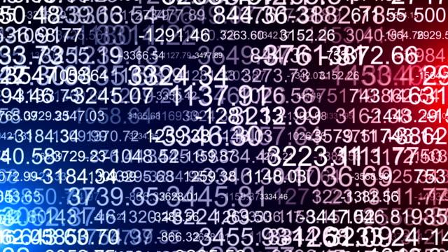 finanzzahlen daten analysieren - text schriftsymbol stock-videos und b-roll-filmmaterial