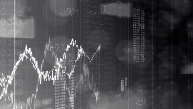 wirtschaftliche wachstum - liniendiagramm stock-videos und b-roll-filmmaterial