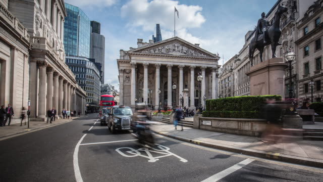 Financial streets of London
