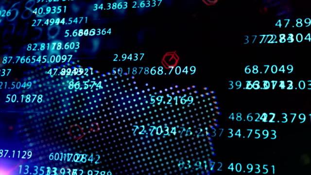 stockvideo's en b-roll-footage met financiële technologie abstracte achtergrond - financieel item