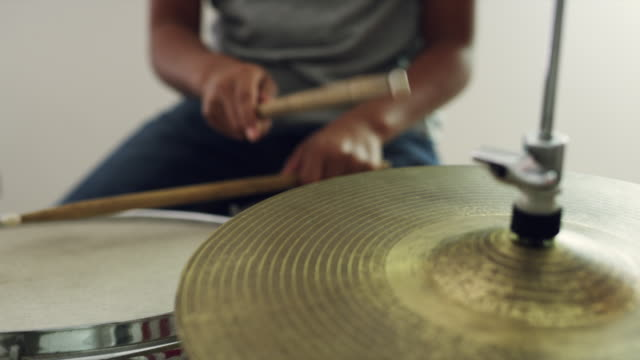 finding his timing - drum percussion instrument stock videos & royalty-free footage