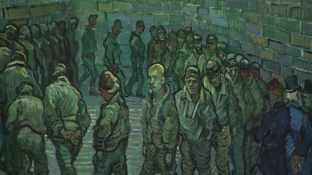van gogh exhibition opens at tate britain uk london tate britain vincent van gogh exhibition england london westminster millbank tate britain int... - fine art portrait stock videos & royalty-free footage