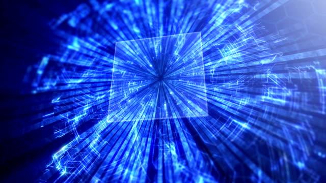 指紋のサイバー セキュリティの概念 - 実験技術者点の映像素材/bロール