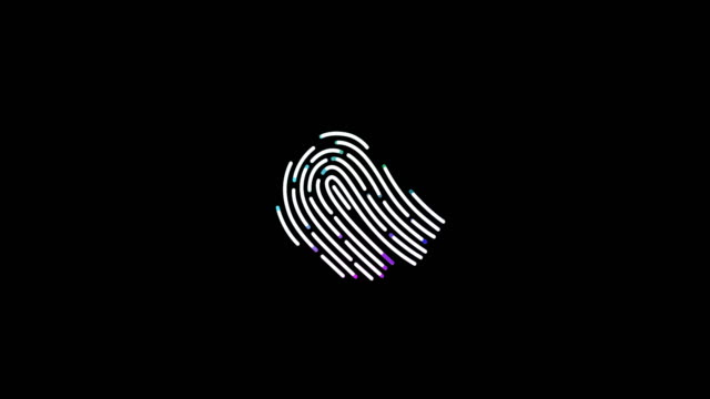 fingerprint, finger print, print, finger scan - human finger stock videos and b-roll footage
