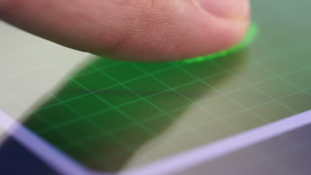 fingerprint identification - fingerprint stock videos & royalty-free footage