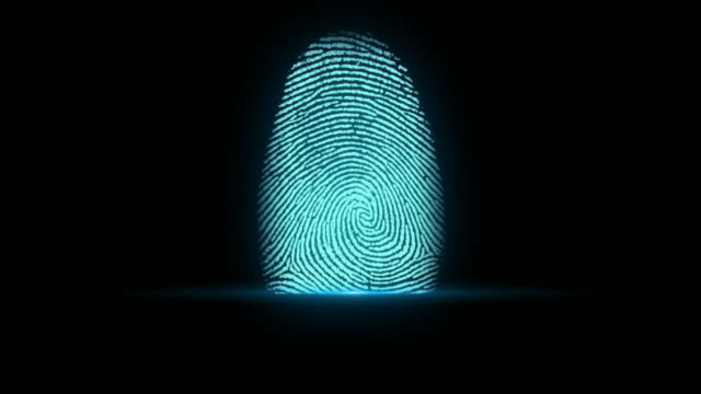 4k fingerprint identification - track imprint stock videos and b-roll footage