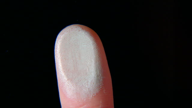 fingerprint on glass - human finger stock videos & royalty-free footage