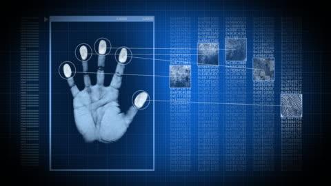 fingerprint reader - identity stock videos & royalty-free footage
