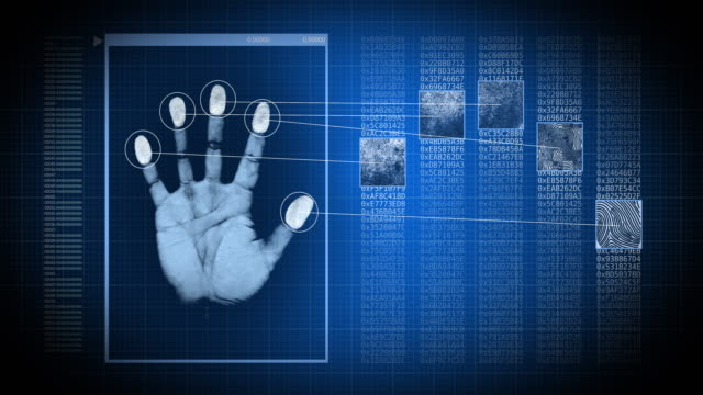 fingerprint reader - identity stock videos & royalty-free footage