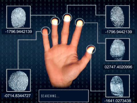 Fingerprint searching