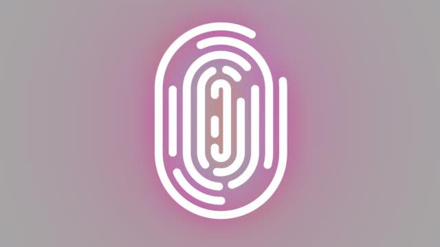 fingerprint - fingerprint stock videos & royalty-free footage