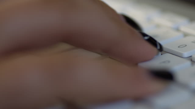 ECU Fingers typing on a keyboard