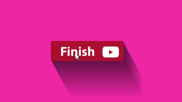 finish button animation - mouse pointer stock videos & royalty-free footage