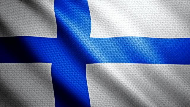 Finland Flag 4K