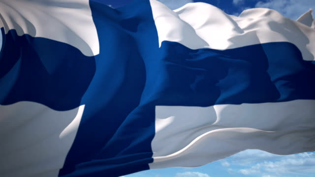 finland flag - organized group stock videos and b-roll footage