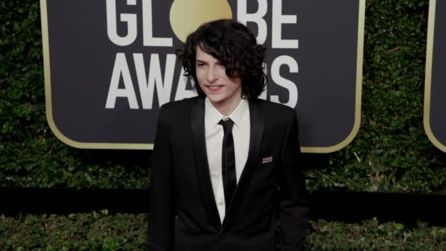 Finn Wolfhard at the 75th Annual Golden Globe Awards at The Beverly Hilton Hotel on January 07 2018 in Beverly Hills California
