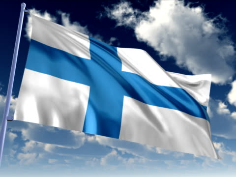 finnish flag - organized group stock videos and b-roll footage