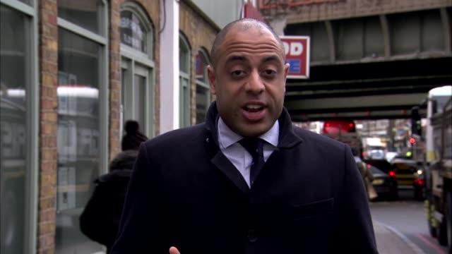 darren osborne denies driving van used in attack day reporter to camera - darren day stock videos & royalty-free footage