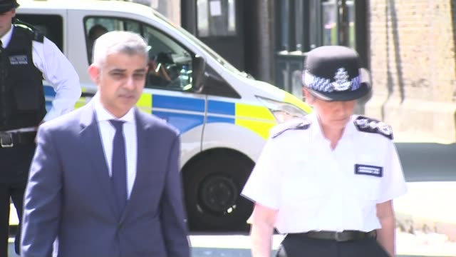 Darren Osborne trial begins LIB / 1962017 Sadiq Khan towards with Cressida Dick