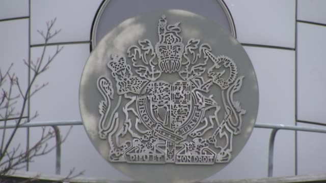 darren osborne trial begins r12101511 london day crest outside and gvs woolwich crown court - darren day stock videos & royalty-free footage