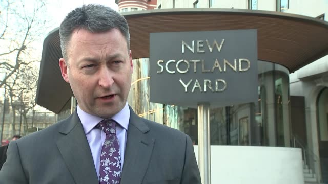 Darren Osborne convicted of murder ENGLAND London EXT Commander Dean Haydon speaking to press SOT