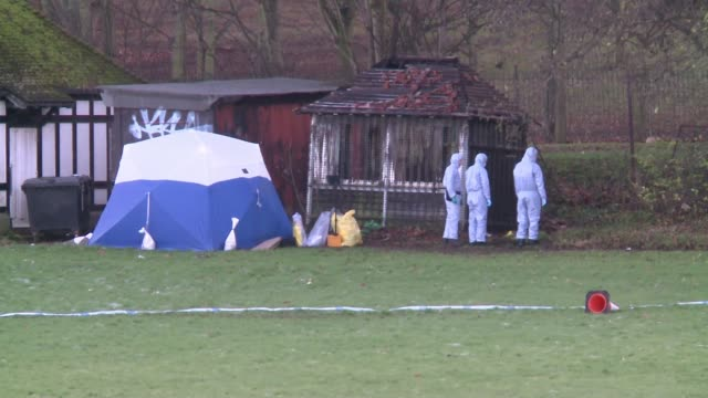 Finsbury Park murder victim identified as Iuliana Tudos ENGLAND London Finsbury Park EXT Various of police forensic officers and forensic teant in...