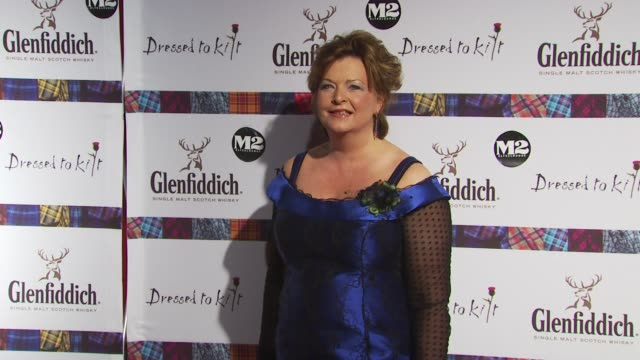 fiona hyslop at the 8th annual 'dressed to kilt' charity fashion show at new york ny - dressed to kilt stock videos & royalty-free footage