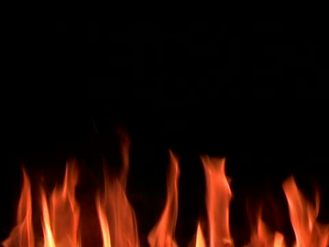 fire and flames - 25p progressive frames - open fire stock videos & royalty-free footage